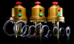 Combifit gasdruk beveiligingsventielSP 2000 3/2 ventiel en Combifit T-ring Tri-Clamp ring Flat ring